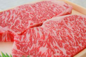 Japanese Special beef (Wagyu)